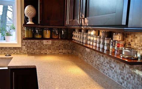 shalllow shelf under cabinets gets stuff off counter 18 kitchen countertop strorage solutions superb cook