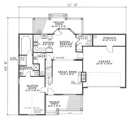 2 000 square feet traditional style house plan 3 beds 2 5 baths 1777 sq ft