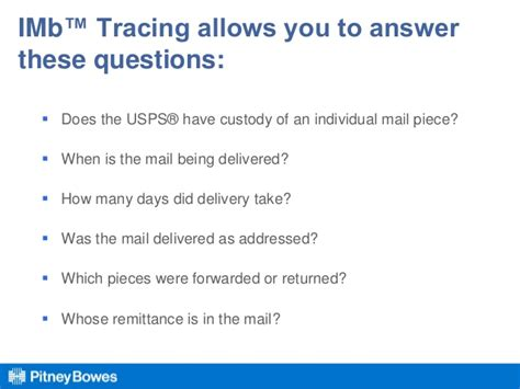 How Does Usps Background Check Take Visibility The New Word In Mail And Shipping Webinar Nov 12 2013