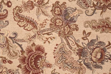 Upholstery Fabric Remnants For Sale by M8231 5254 Chenille Tapestry Upholstery Fabric In Meadow