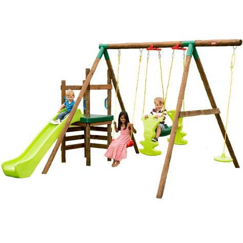 little tikes swing parts little tikes 4in1 stockholm wooden swing set best price