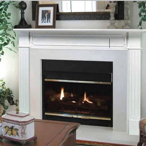 pearl mantels 520 48 the berkley fireplace mantel at
