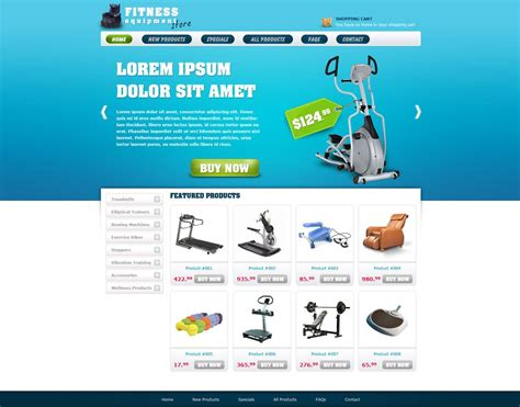 template ecommerce free ecommerce website template free store