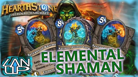 shaman deck builds elemental shaman deck hearthstone deck building