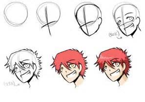 how i draw anime step by step by mangarainbow on deviantart