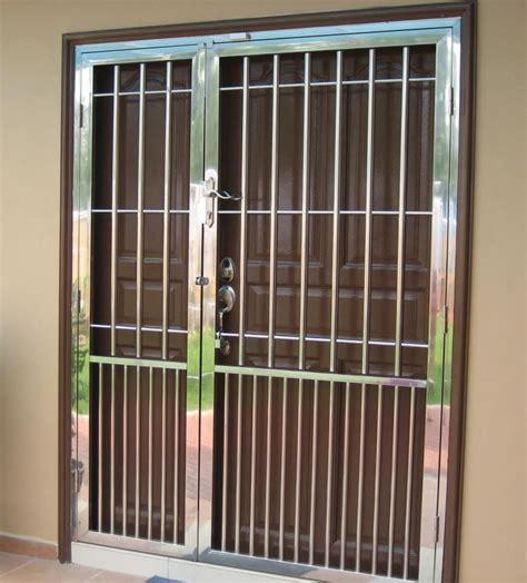 house front grill window grill design steel doors