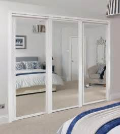 Mirror Sliding Closet Doors For Bedrooms Shaker Panel Mirror Door White Sliding Wardrobe Doors Doors Joinery Howdens Joinery