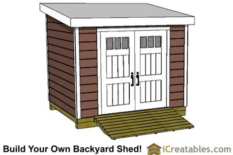 4 X 10 Shed Plans by Lean To Shed Plans Easy To Build Diy Shed Designs