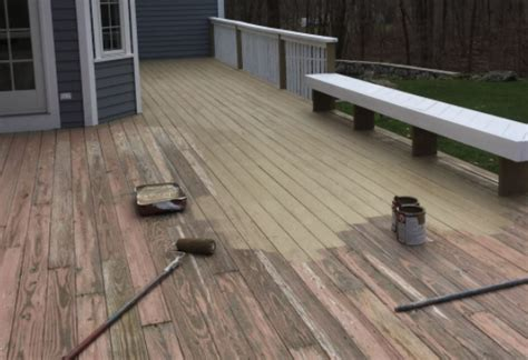 paint  stain  deck ag williams
