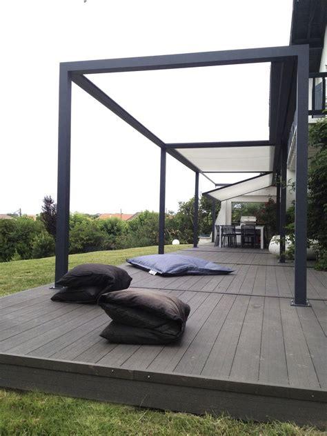 aluminium terrasse self supporting pergola aluminum pvc farbric sliding