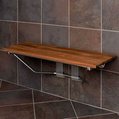 wood bench for shower warm wooden shower bench the homy design