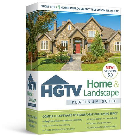 hgtv home design software 5 0 hgtv home landscape platinum suite 5 0 home