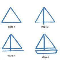 dessin de bateau facile a faire dessins simples 31 le 231 ons de dessin pour apprendre 224