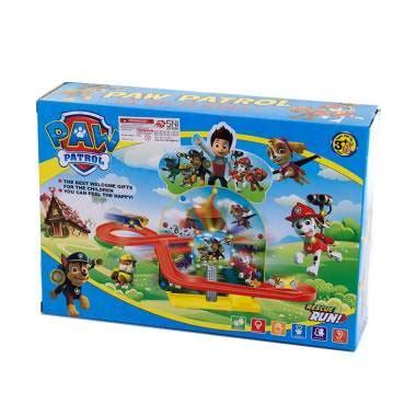 Produk Mainan Anak Anak Kecil Figure Paw Patrol Isi 6 Pcs Bisa Nembak jual 8855a paw patrol track mainan anak multicolour harga kualitas terjamin