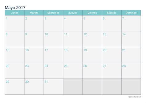 calendario noviembre 2017 para imprimir icalendario net calendario mayo 2017 para imprimir icalendario net