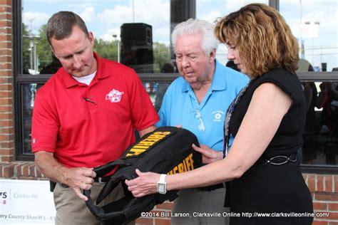 Gary Matthews Kia Gary Mathews Motors Recognized For Donation Of Ballistic