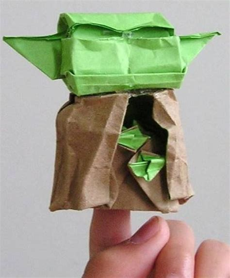 Capone7s Yoda From Site Origami Yoda
