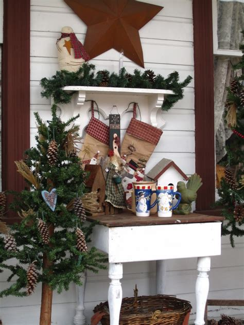 wrap around porch christmas decorations rustic country front porch