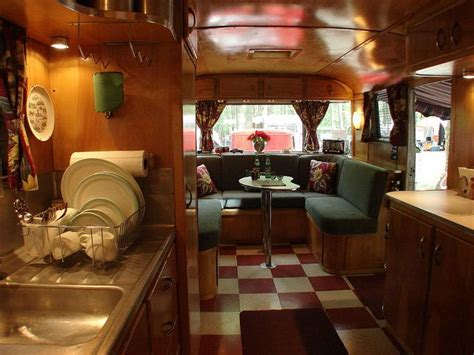 Vintage Travel Trailer Interior Pictures by Vintage Travel Trailer Original Interior I Like The