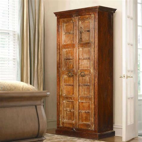 tall armoires ashmore handcrafted gothic gates reclaimed wood tall armoire