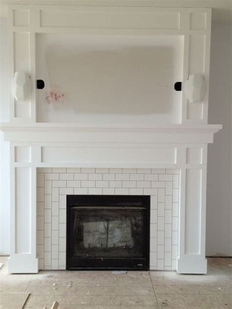 25 best ideas about wood mantle on rustic