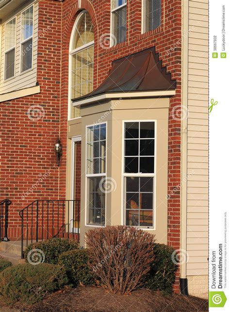 house with bay windows house bay window stock photography image 38667932