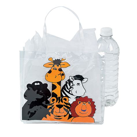zoo animal tote bags trading