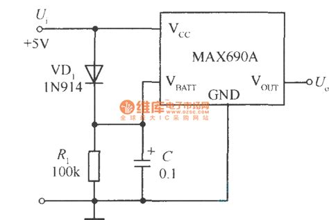 capacitor and battery circuit using large capacitor c to instead back up battery circuit power supply circuit circuit