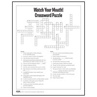 printable word association games for seniors dental health puzzles and games american dental association