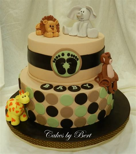 Baby Animals Theme For Baby Shower by Baby Animal Themed Baby Shower Cakecentral