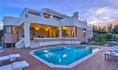 Homes With 2 Master Bedrooms by Instyle Villas Modi Villa Chania Crete