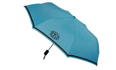 personalized turquoise umbrella boutique me