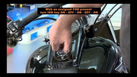 setting or changing harley davidson security system alarm