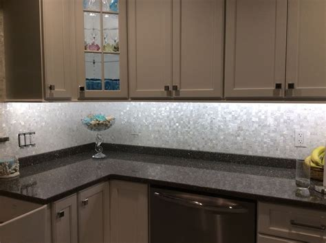 large tile kitchen backsplash large groutless of pearl shell tile kitchen backsplash dixon kitchen backsplash