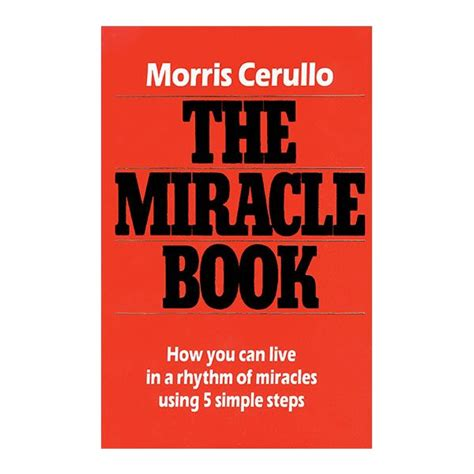 The Miracle Book By Morris Cerullo The Miracle Book Morris Cerullo World Evangelism