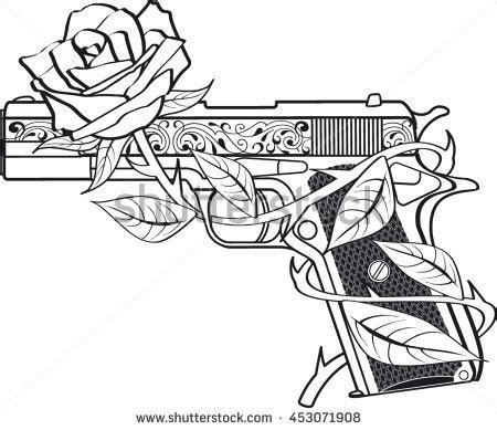 guns and roses stock images royalty free images amp vectors