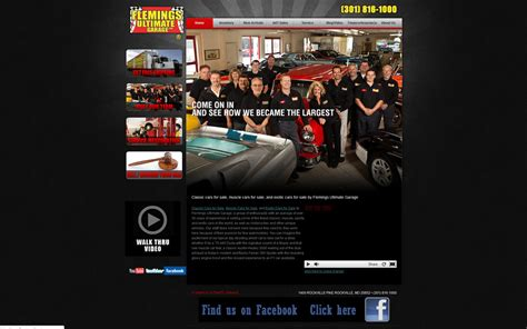 garage website flemings ultimate garage classic car websites classic