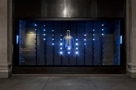 nike kinect interactive window display by staat best
