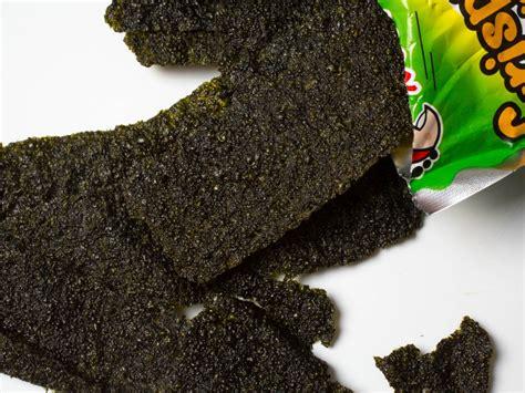 snack rong biển tao kae noi crispy seaweed vị truyền thống