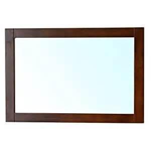Vanity Mirror Frame Bellaterra Home 203129 Mirror W Mirror Wood Frame Walnut