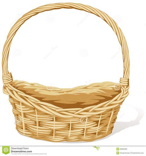 clipart basket empty flower basket clipart clipartxtras