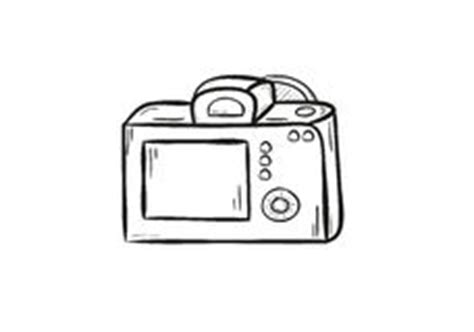 drawing digital slr camera stock photos, images