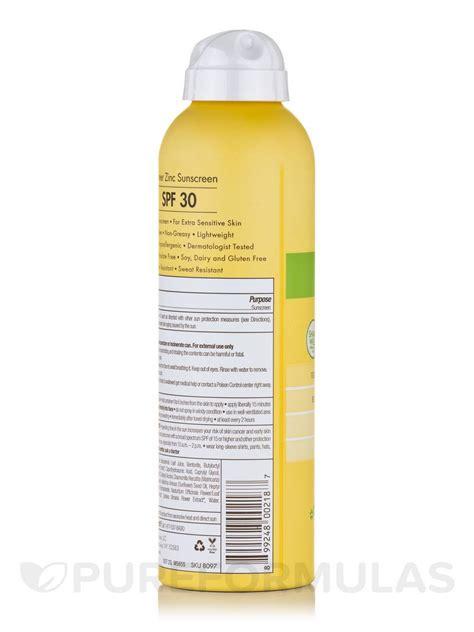 Sunblock Sunscreen Drw Skincare sheer zinc sunscreen for sensitive skin spf 30 fragrance free spray 6 fl oz 177 ml