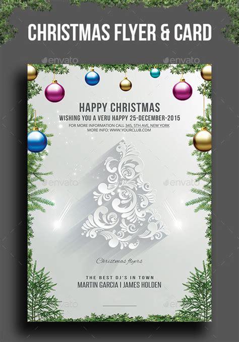 35 Best Merry Christmas Flyer Psd Templates Designssave Com 2015 Flyer Card Template