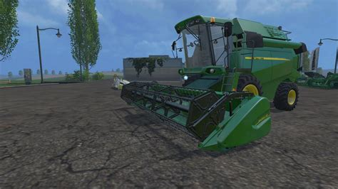 new john deere combine developments for 2015 john deere w440 combine v1 fs2015 com