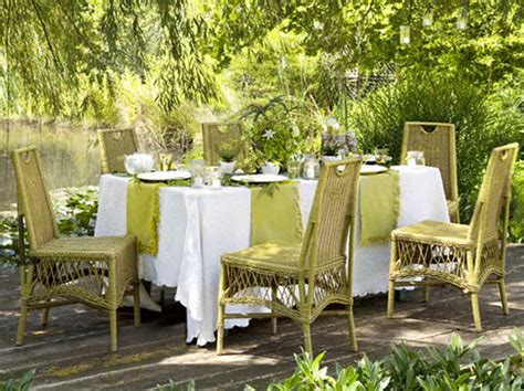 outside dinner ideas outdoor dinner ideas with wricker chair home