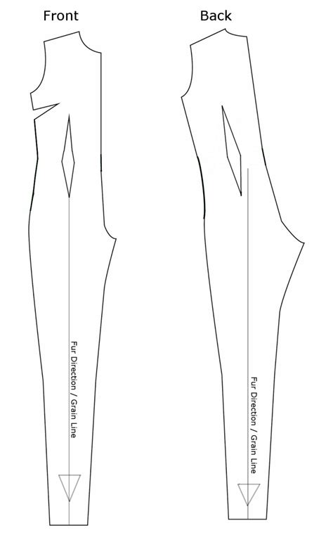 pattern for jumpsuit basic jumpsuit fullsuit pattern weasyl
