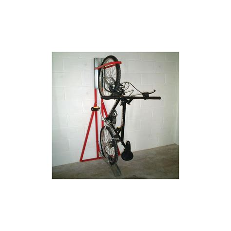 single sided indoor vertical bike rack from parrs