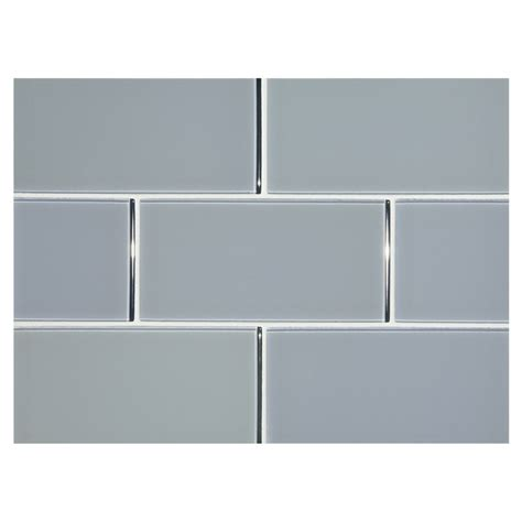 subway tile colors phenomena glass tile ganders gray 3 quot x 6 quot subway tile