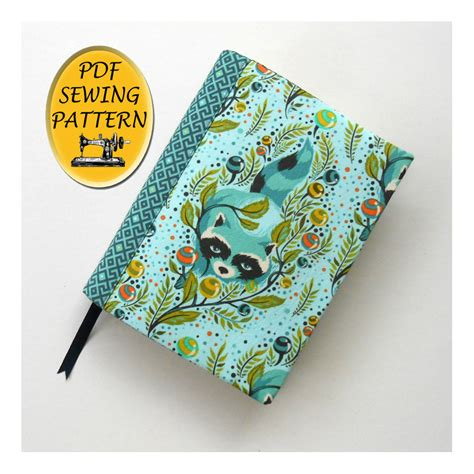 cover patterns sewing notebook cover sewing pattern a5 journal cover pattern